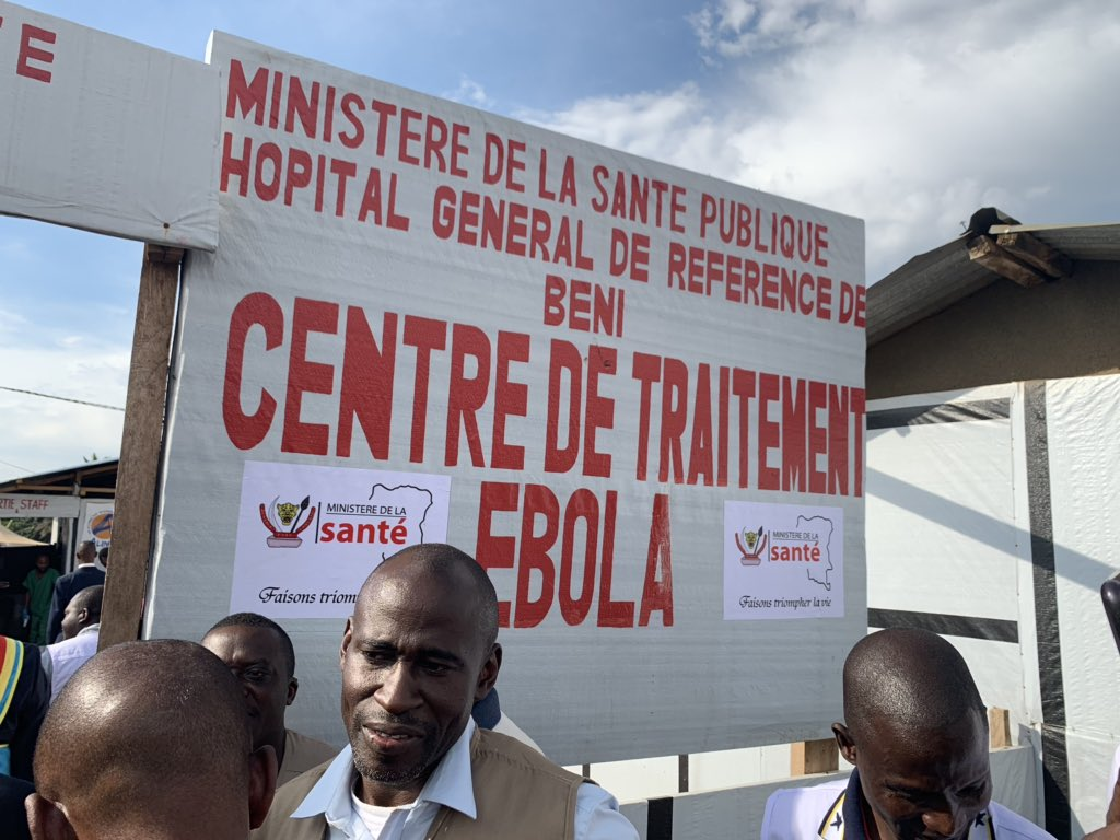 Les États-Unis annoncent une aide supplémentaire de plus de 38 millions USD pour mettre fin à Ebola en RDC