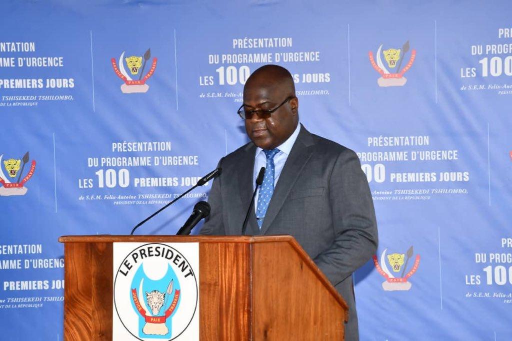 Le Potentiel : « 100 jours de Félix Tshisekedi : un début qui promet »