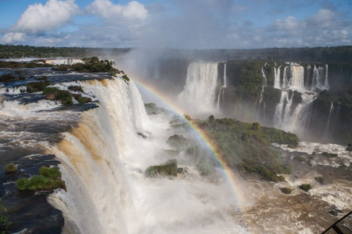 Iguacu Brazil Iguazu Argentina