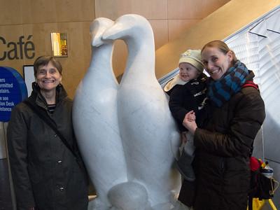 Fun family trip to the New England Aquarium