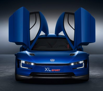 New Volkswagen Xl Sport Concept Car Model Photos