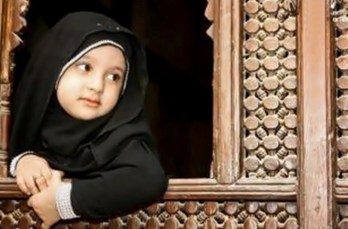 Cute Muslim Babies Praying Photos