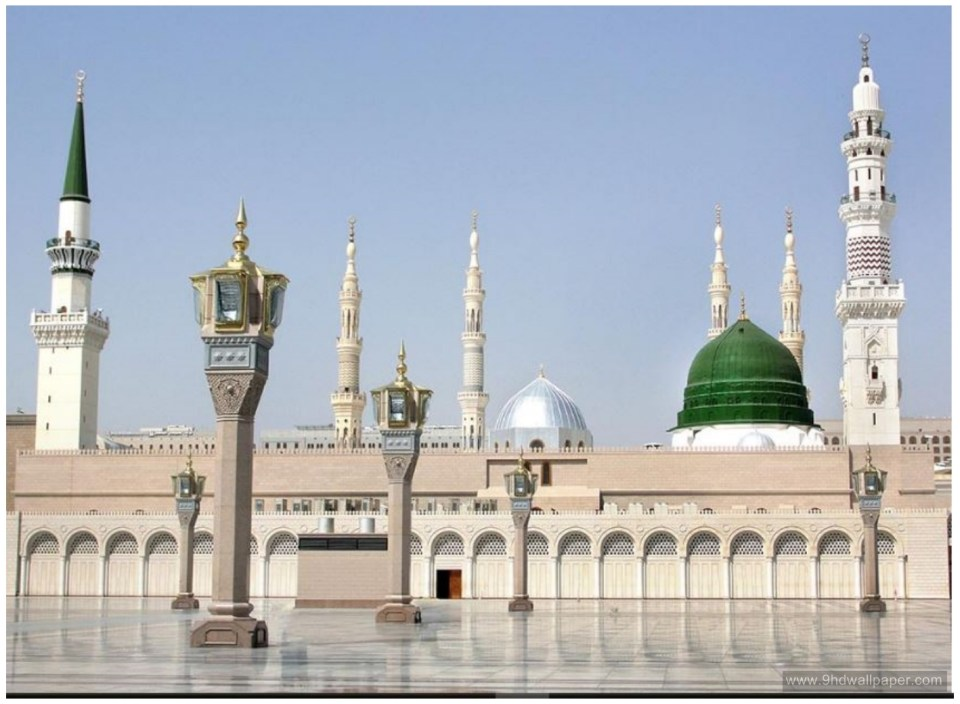 Masjid Nabawi Widescreen Wallpapers Backgrounds