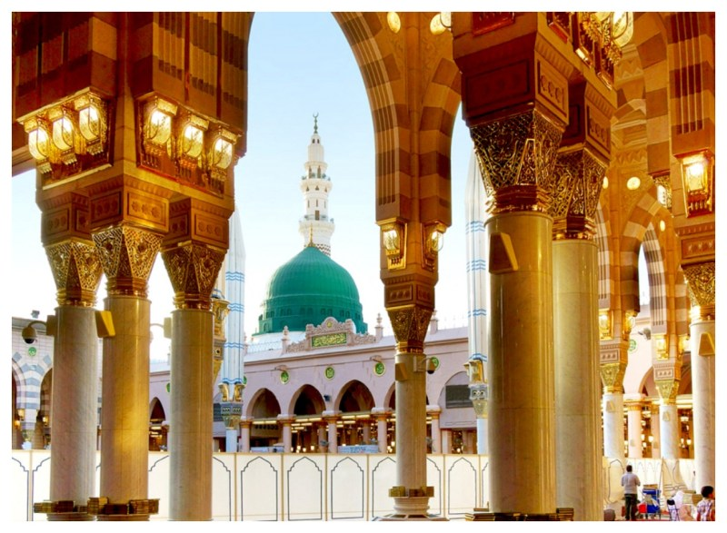 Pictures of Madina Sharif (2)