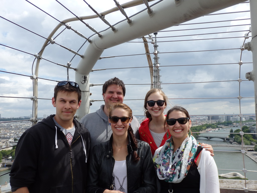My Siblings and I on the Top of Notre Dame Cathedral, Paris