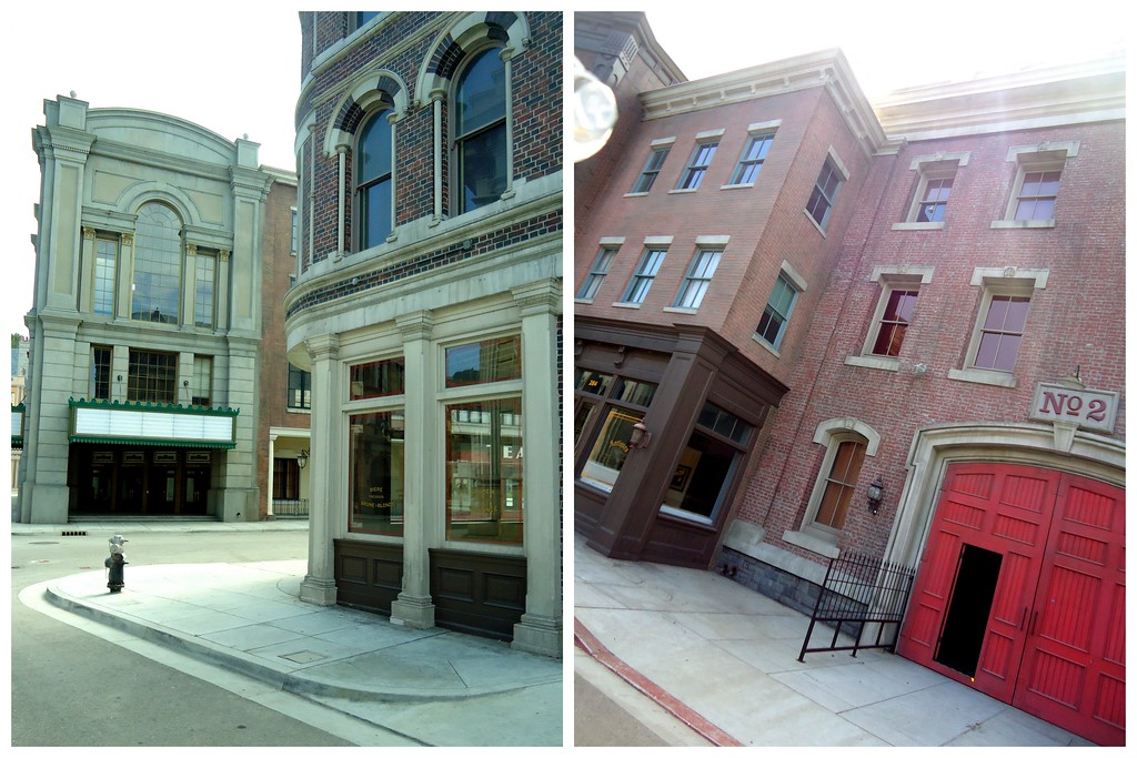 Buildings Used For Filming on the Backlot of Universal Studios Hollywood