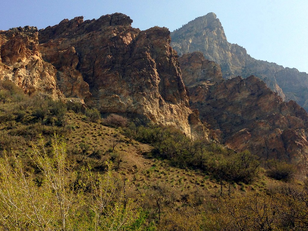 Rocky Ridges on Provo's Rock Canyon Trail
