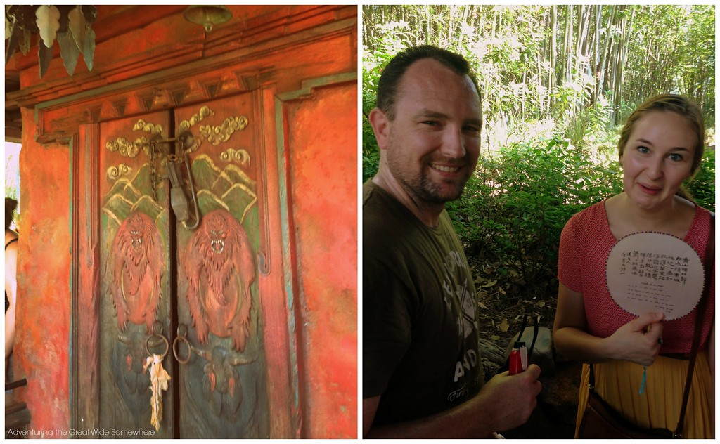 Sweating it out at Expedition Everest in August, Disney's Animal Kingdom