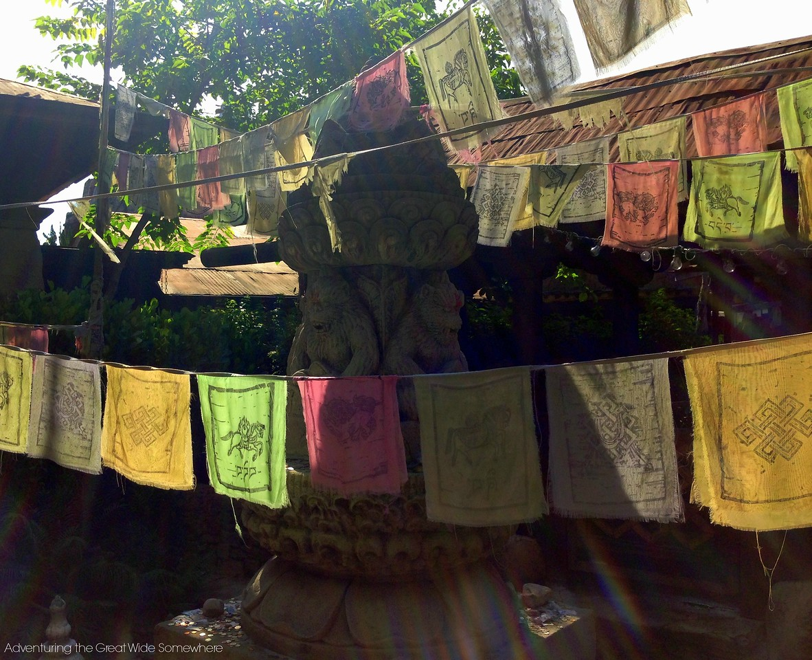 Colorful Details in the Expedition Everest Queue Line at Disney's Animal Kingdom