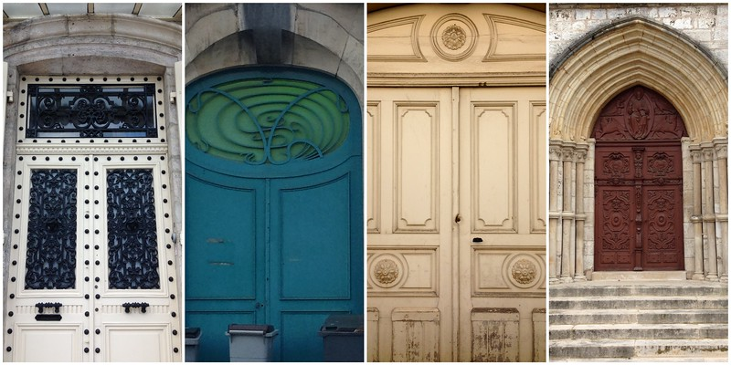 Four Beautiful Doors of Chaumont, France