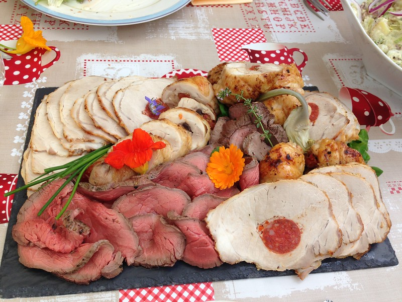 Charcuterie Platter from Restaurant La Vallée in France