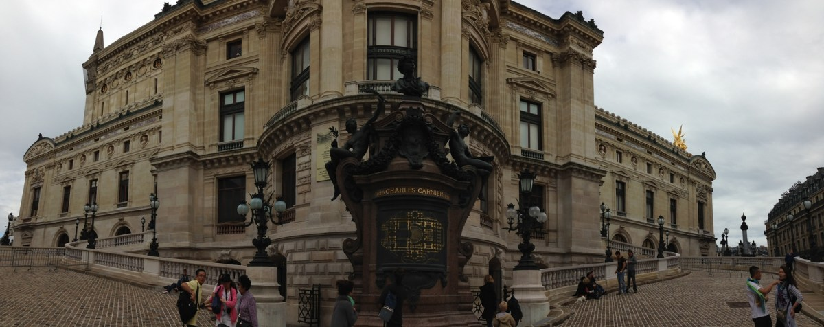 The Main Entry and Staircase to the Palais Garnier in Paris, France