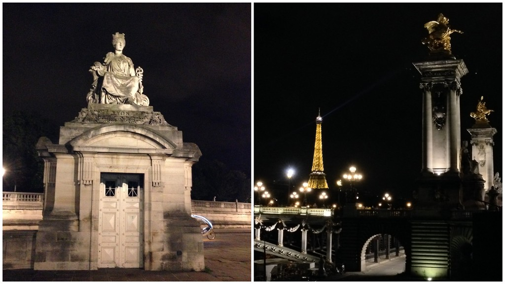 Pont Alexandre III With the Eiffel Tower in the Background, 2014