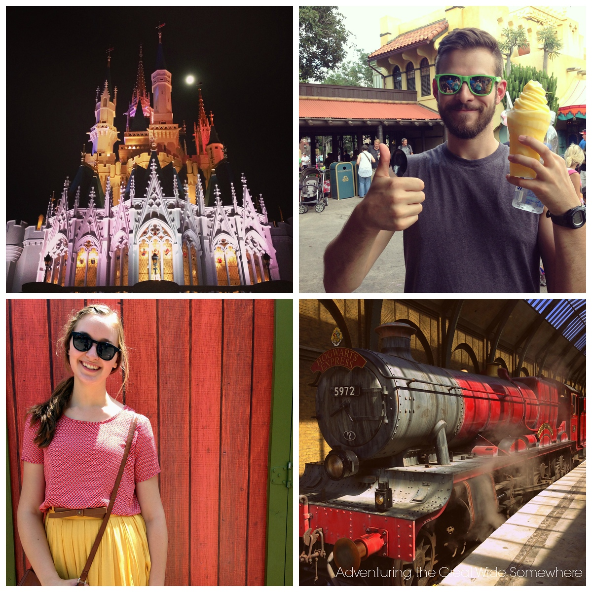 Visiting the Orlando Theme Parks with Family