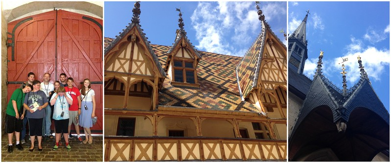 Visiting the Hospices de Beaune in France