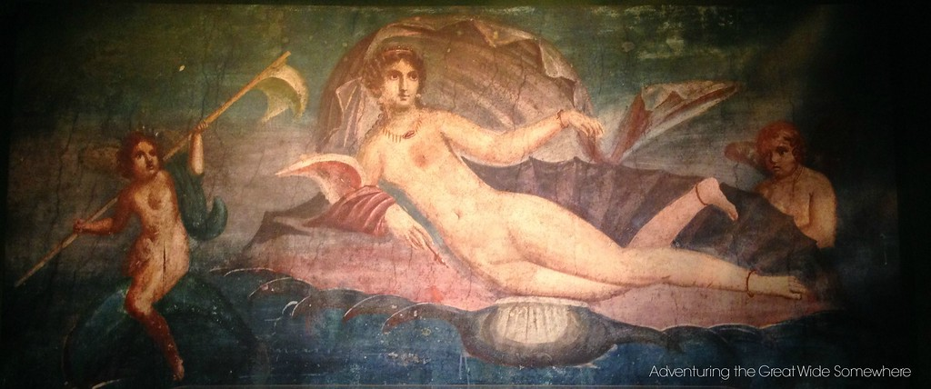 Pompeiian Fresco of a Woman