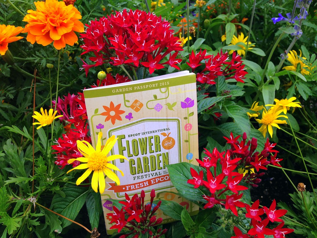 Fresh Epcot Festival Passport from the 2015 Epcot International Flower and Garden Festival