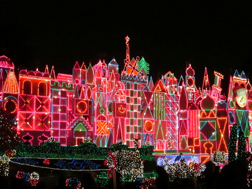 The Colorful Exterior of It's a Small World After All at Disneyland