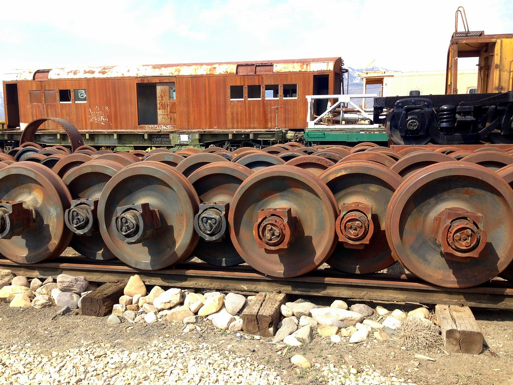 Spare Wheels at Heber Valley Historic Railroad in Heber Valley, Utah