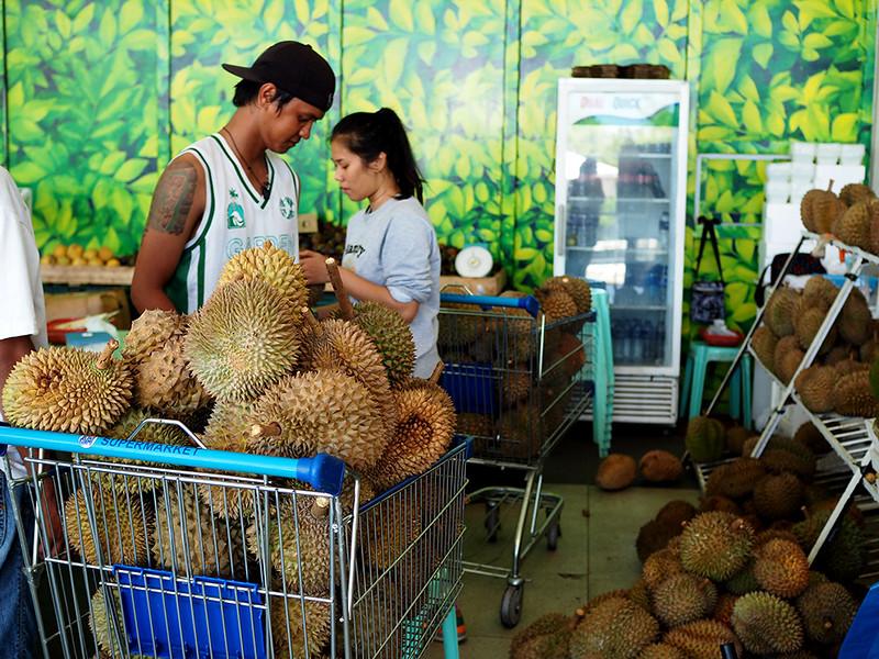sm lanang durian