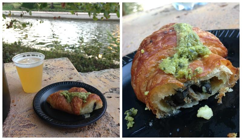 Croissant aux Escargots Epcot French Pavilion
