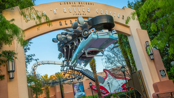Rock n Roller Coaster at Disney's Hollywood Studios