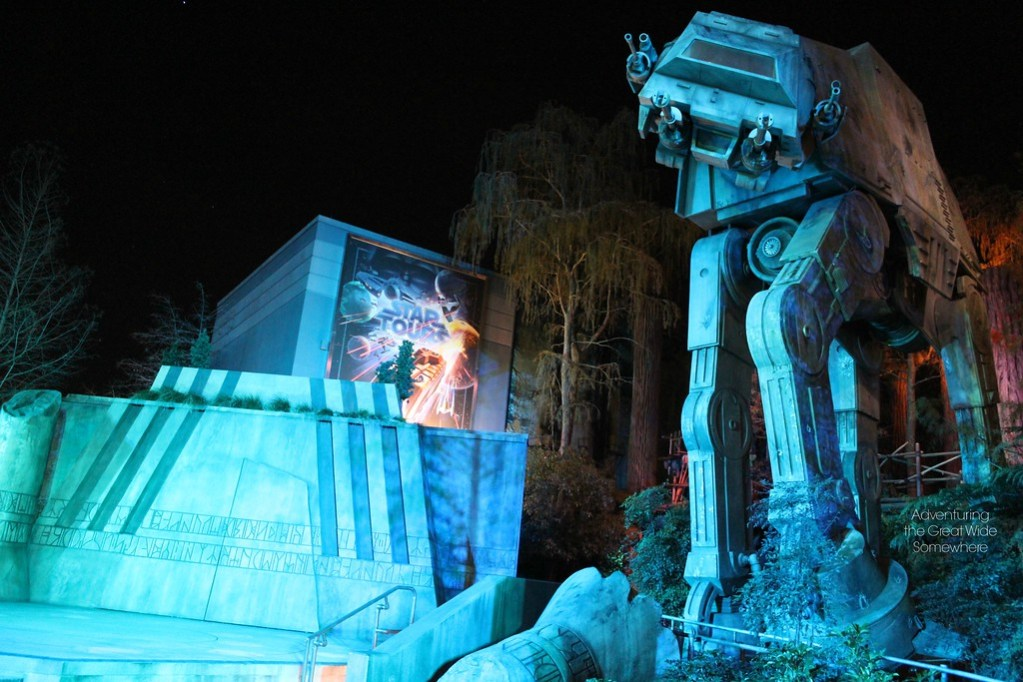 Star Tours and AT-AT at Disney's Hollywood Studios in Walt Disney World