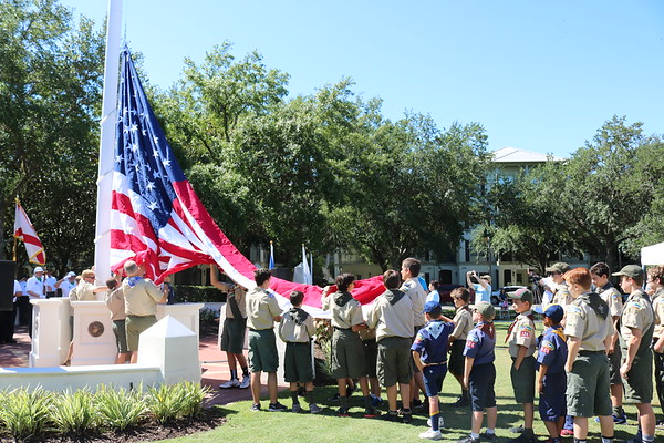 2017 Memorial Day Flag Ceremony