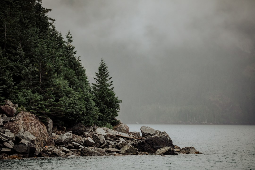 Scenery in Resurrection bay during  a major marine tour of Kenai Fjords National Park out of seward, Alaska. Taken by Kimberly Kendall of Clicking with Kim