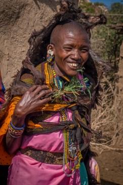 ceremony at Maasai Widow's Village in Kenya