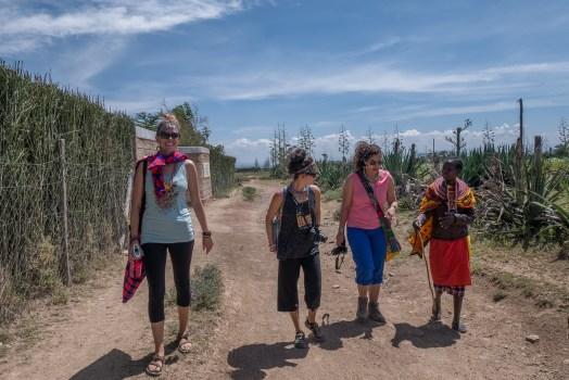 exploring the Loita Plains near Maji Moto