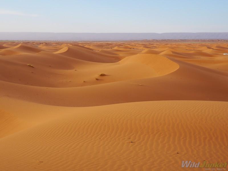 撒哈拉沙漠沙漠:请求如何进行前进的旅程