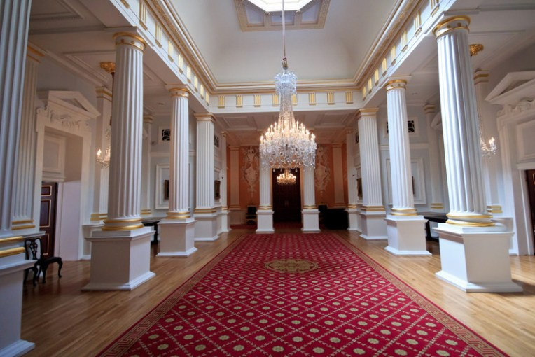Mansion House and City of London   benthecat Mansion House interior