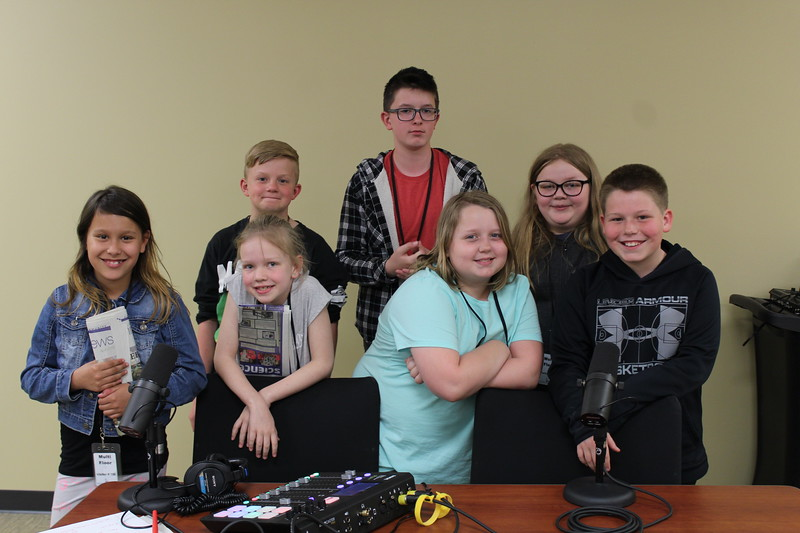 Students from the Arnold Elementary Community Learning Center Jr. Jobs Club