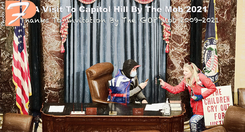 A Visit to Capitol Hill By The Mob 2021