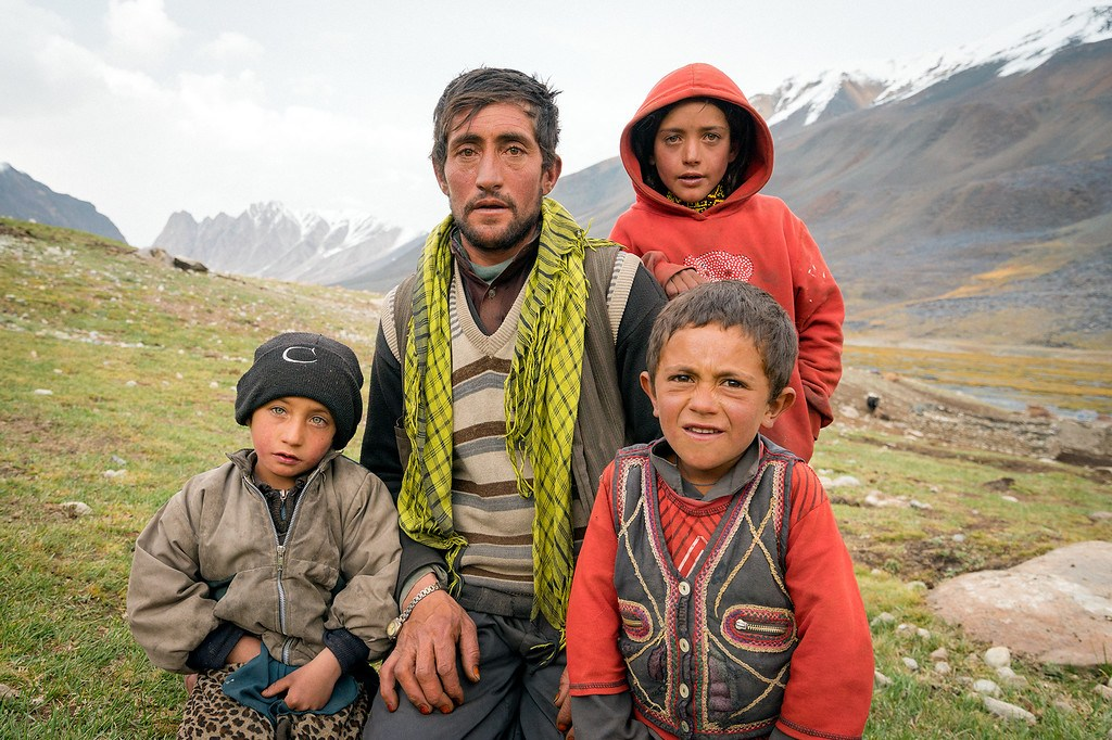 Afghan Family in Wakhan