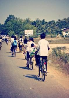 cambodian school kids