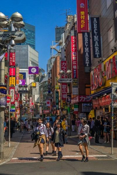 traveling in tokyo, japan