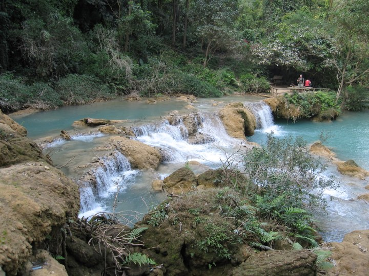 laos waterfalls