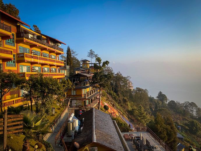 The Balcony With Nepal's Best Sunrise View