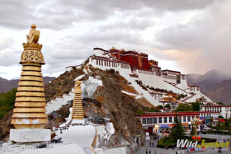 Tibet tour itinerary - potala palace