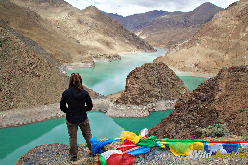 Tibet tour itinerary - lake yamdrok