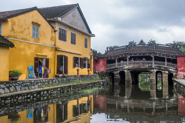 The Japanese Bridge in Hoi An.
