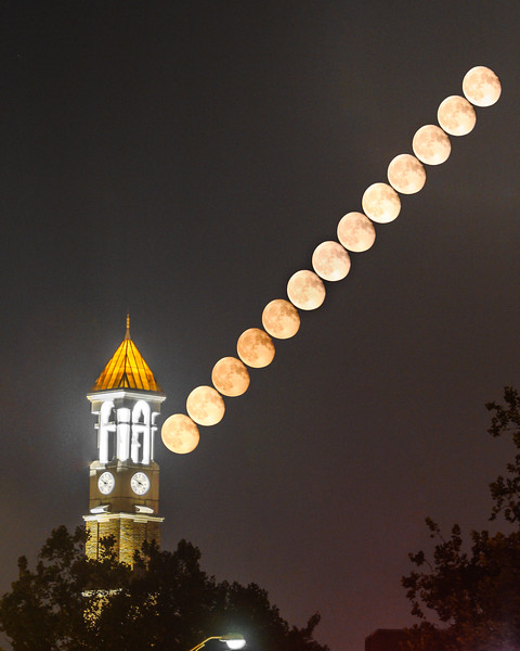 Bell Tower Moonrise