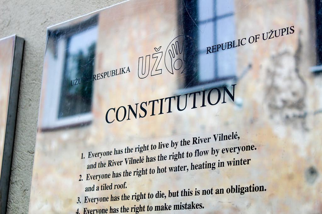 The best of Vilnius sightseeing is in Uzupis