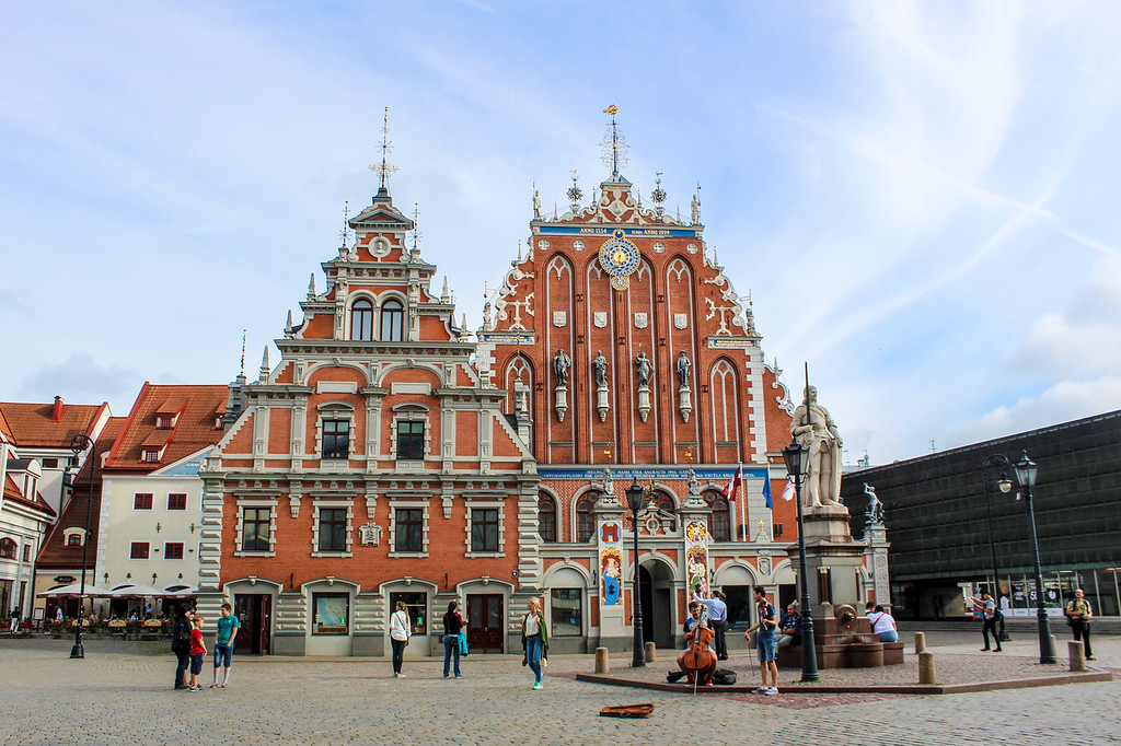 see riga's old town when taking tours of the baltics