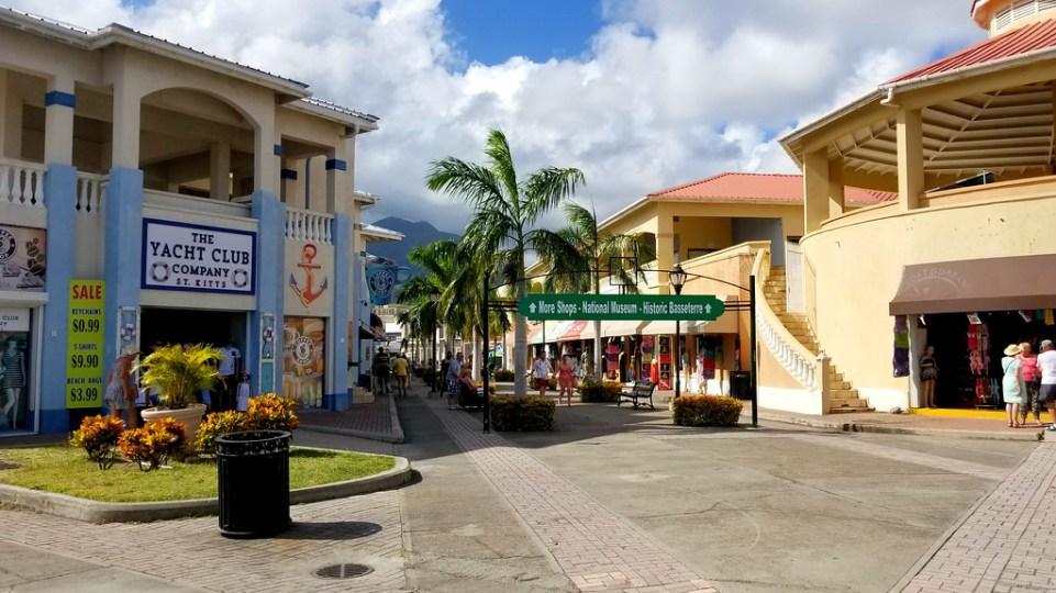 St. Kitts & Nevis Shopping District - RoarLoud.net