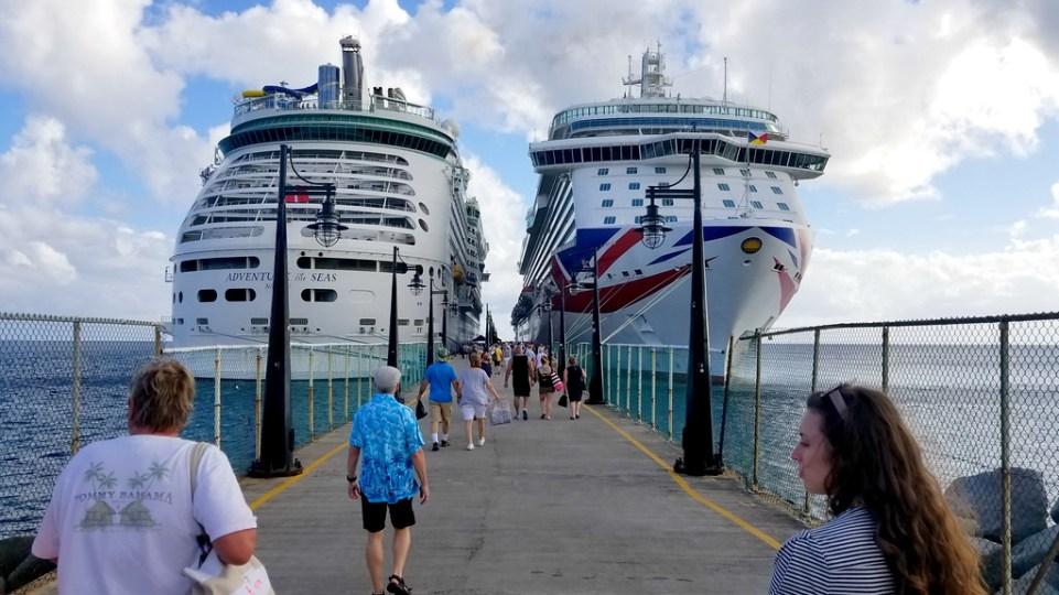 Heading back on board our cruise in St. Kitts & Nevis - RoarLoud.net