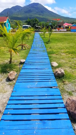 Boardwalk on Nevis - RoarLoud.net