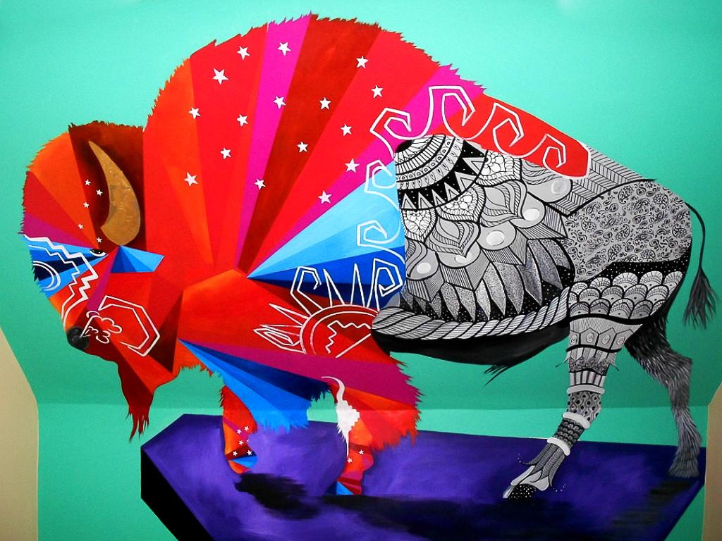 buffalo mural - Bella Luna
